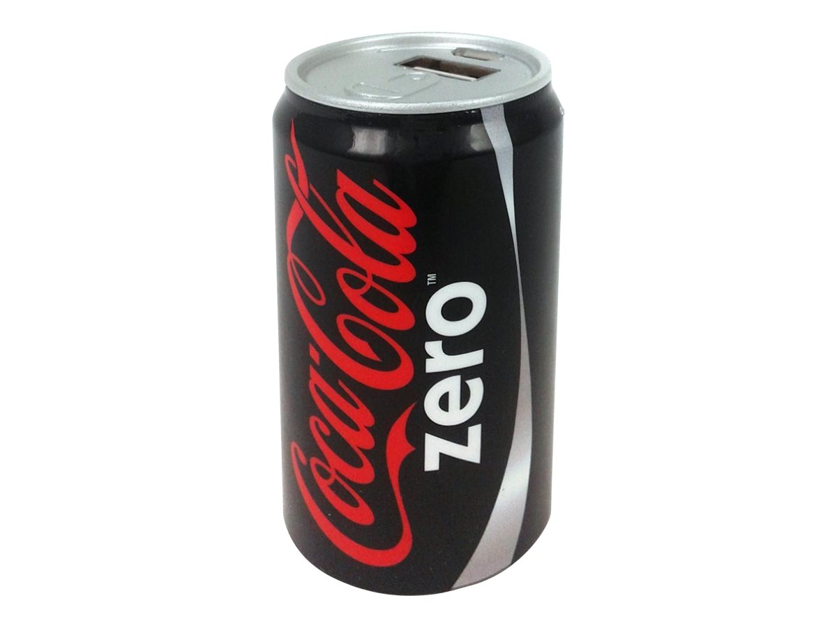 Urban Factory Coca-Cola Zero - banque d'alimentation