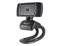 Trust Trino HD Video Webcam Webkamera farve 1280 x 720 audio USB 2.0