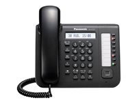 Panasonic KX-DT521 - Digital phone - black