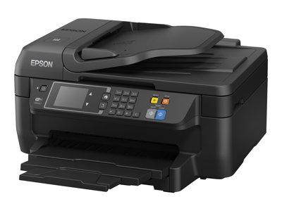 Epson WorkForce WF-2660DWF - Multifunkční tiskárna - barva - tryskový - A4/Legal (média) - až 33 stran/min. (tisk) - 150 listy - 33.6 Kbps - USB 2.0, LAN, Wi-Fi(n), hostitel USB