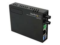 StarTech.com Convertisseur Fast Ethernet cuivre fibre optique multimodeST 10/100- 2km