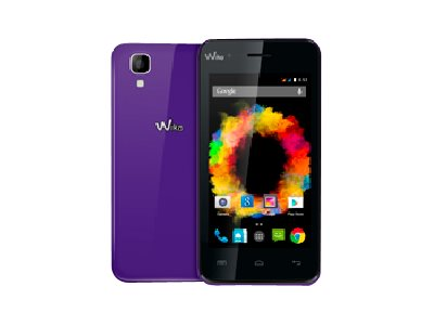 Wiko Sunset - violet - 3G HSPA+ - 4 Go - GSM - smartphone Android