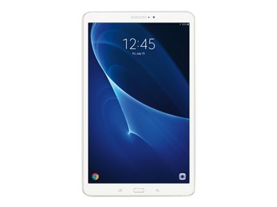 "Samsung Galaxy Tab A (2016) - Tablet - Android 6.0 (Marshmallow) - 16 GB - 10.1"" TFT (1920 x 1200) - microSD slot - white"