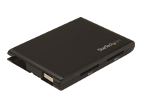 StarTech.com Dual-Slot SD Card Reader/Writer - USB 3.0 - SD 4.0, UHS II - lecteur de carte - USB 3.0