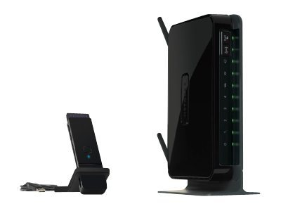 NETGEAR Wireless-N 300 Router with DSL Modem DGN2200