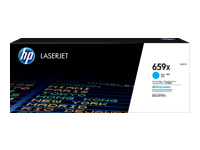 HP 659X - Cyan - original - LaserJet - toner cartridge (W2011X) - for LaserJet Enterprise MFP M776; LaserJet Enterprise Flow MFP M776