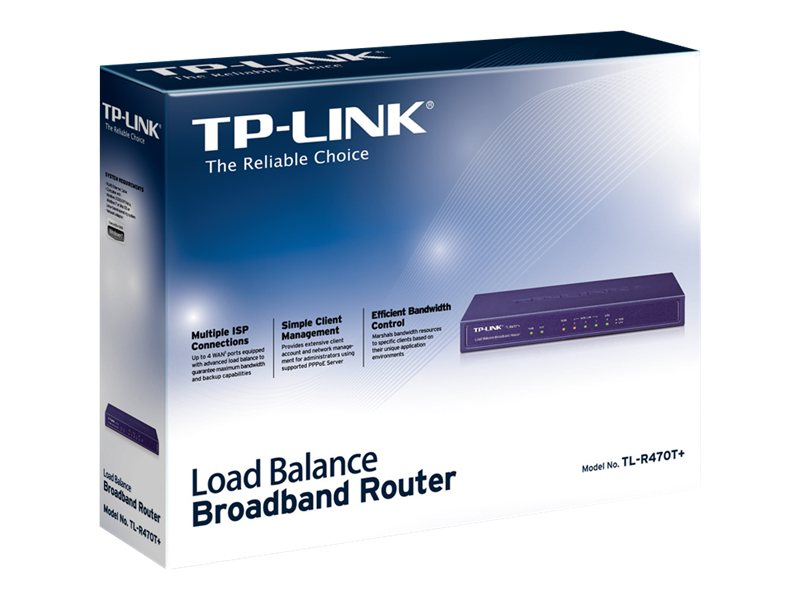 TP-Link TL-R470T+ Load Balance Broadband Router   Comms Express