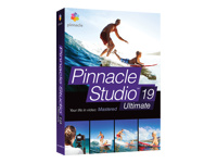 Pinnacle Studio Ultimate (version 19 ) - ensemble de boîtes