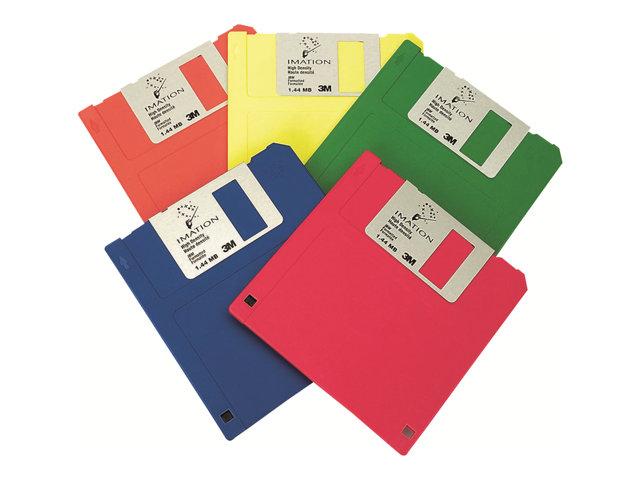 Imation   Floppy Disk x 10   1.44 MB