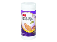 3M Desk & Office Cleaner Wipes CL563