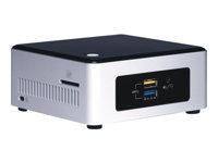 Intel Next Unit of Computing Kit NUC5PGYH - Barebone - mini PC - 1 x Pentium N3700 / 1.6 GHz - RAM 2