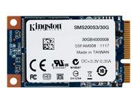 Kingston SSDNow mS200 Solid state drive 30 GB intern mSATA SATA 6Gb/s