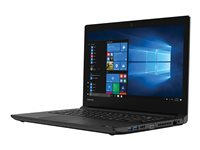"Toshiba Tecra C40-D1400ED - Celeron 3865U / 1.8 GHz - Win 10 Pro Education - 4 GB RAM - 128 GB SSD - 14"" 1366 x 768 (HD) - HD Graphics 610 - Wi-Fi - graphite black, black keyboard"