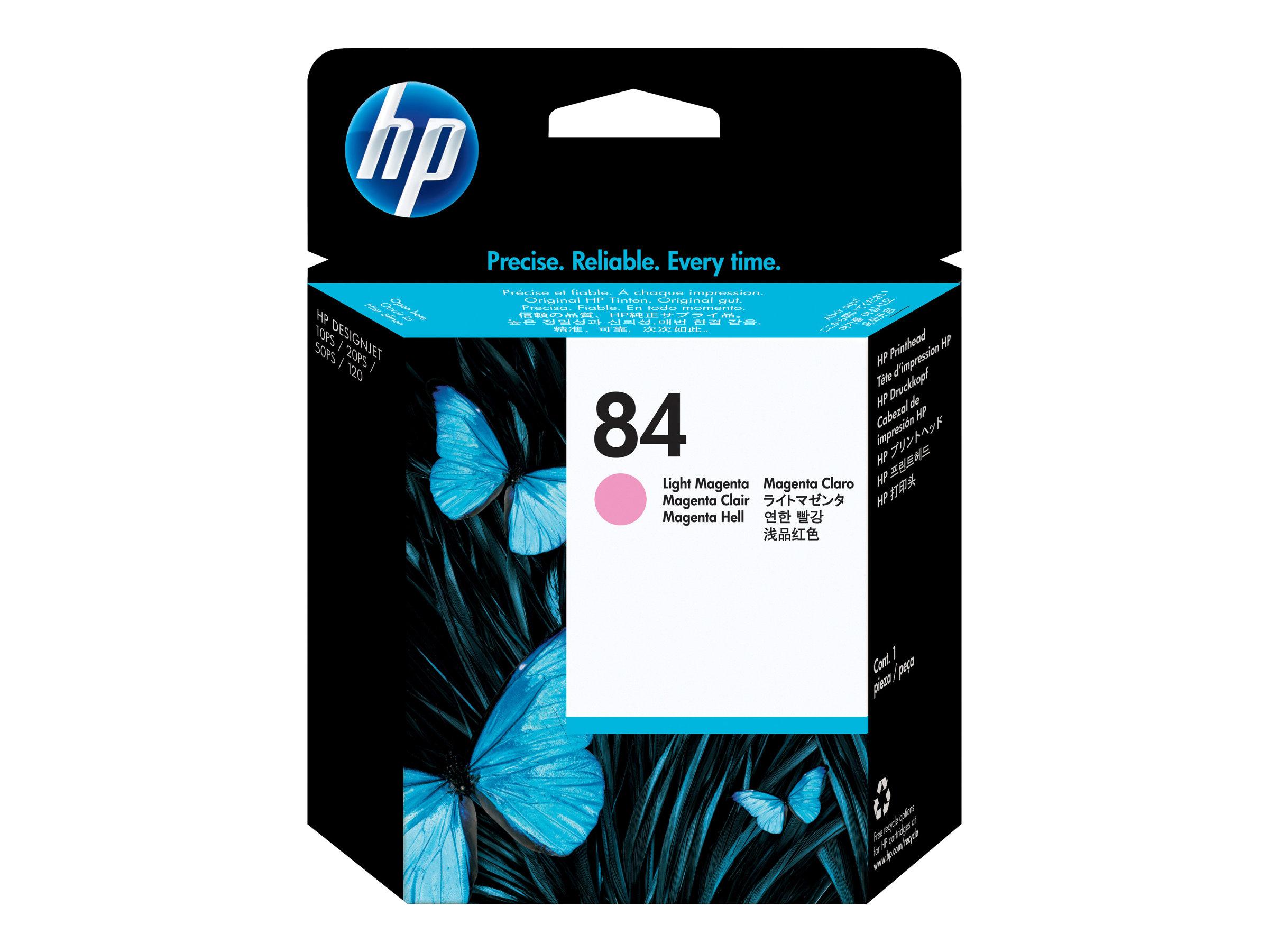 HP 84 - magenta clair - tête d'impression