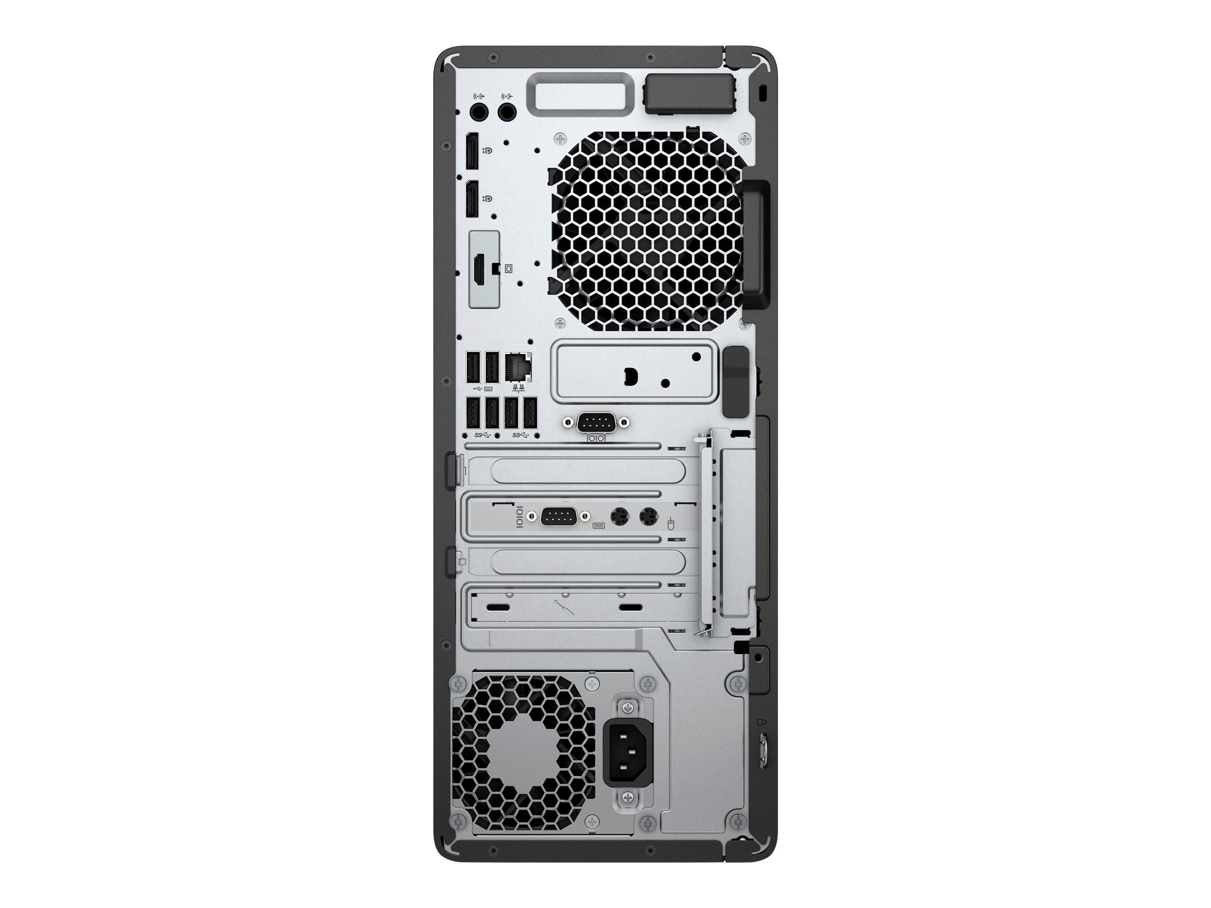 DCS - Personlig Stationær - HP EliteDesk 800 G3 TWR i7-7700