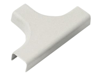 Nexxt Network Distribution Systems - Cable raceway tee cover - off white