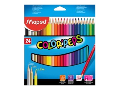 Maped Color'Peps Cardboard Packs - crayon de couleur