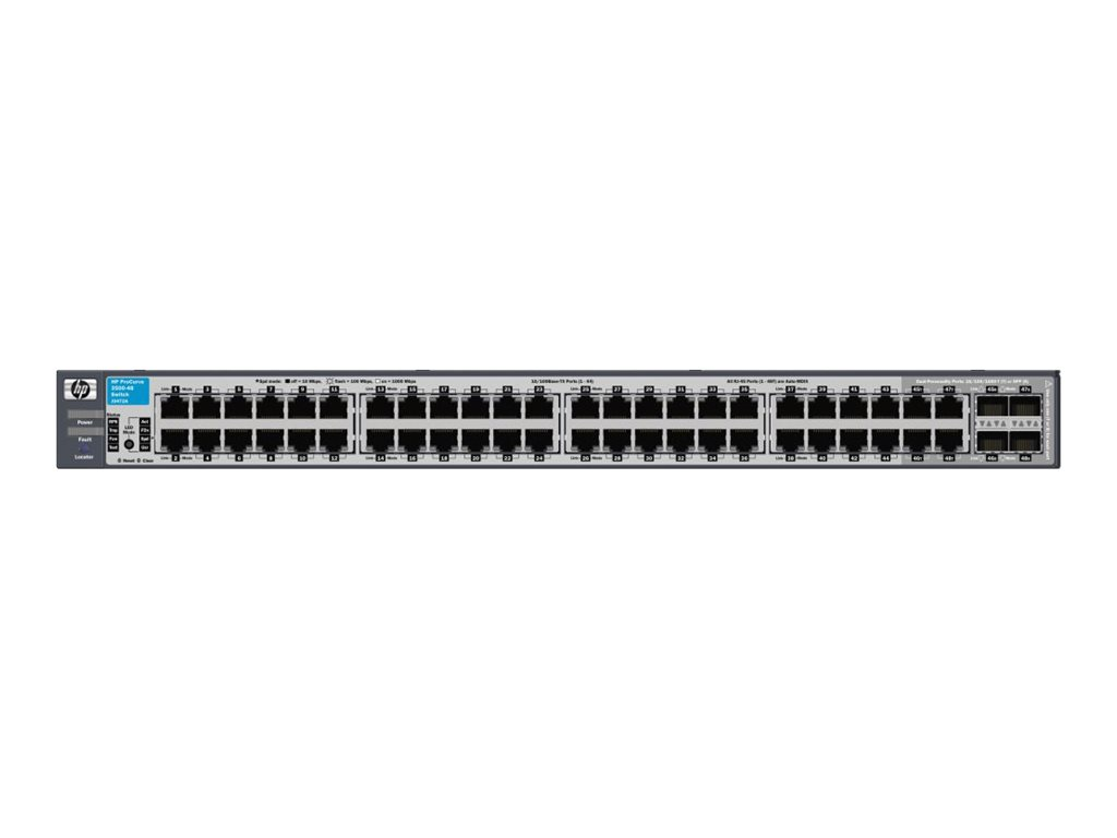 Hp J9472a Procurve 3500 48 Switch Comms Express Kinds Of Keystone Jackpatch Panelwiring Blockfaceplate And So On