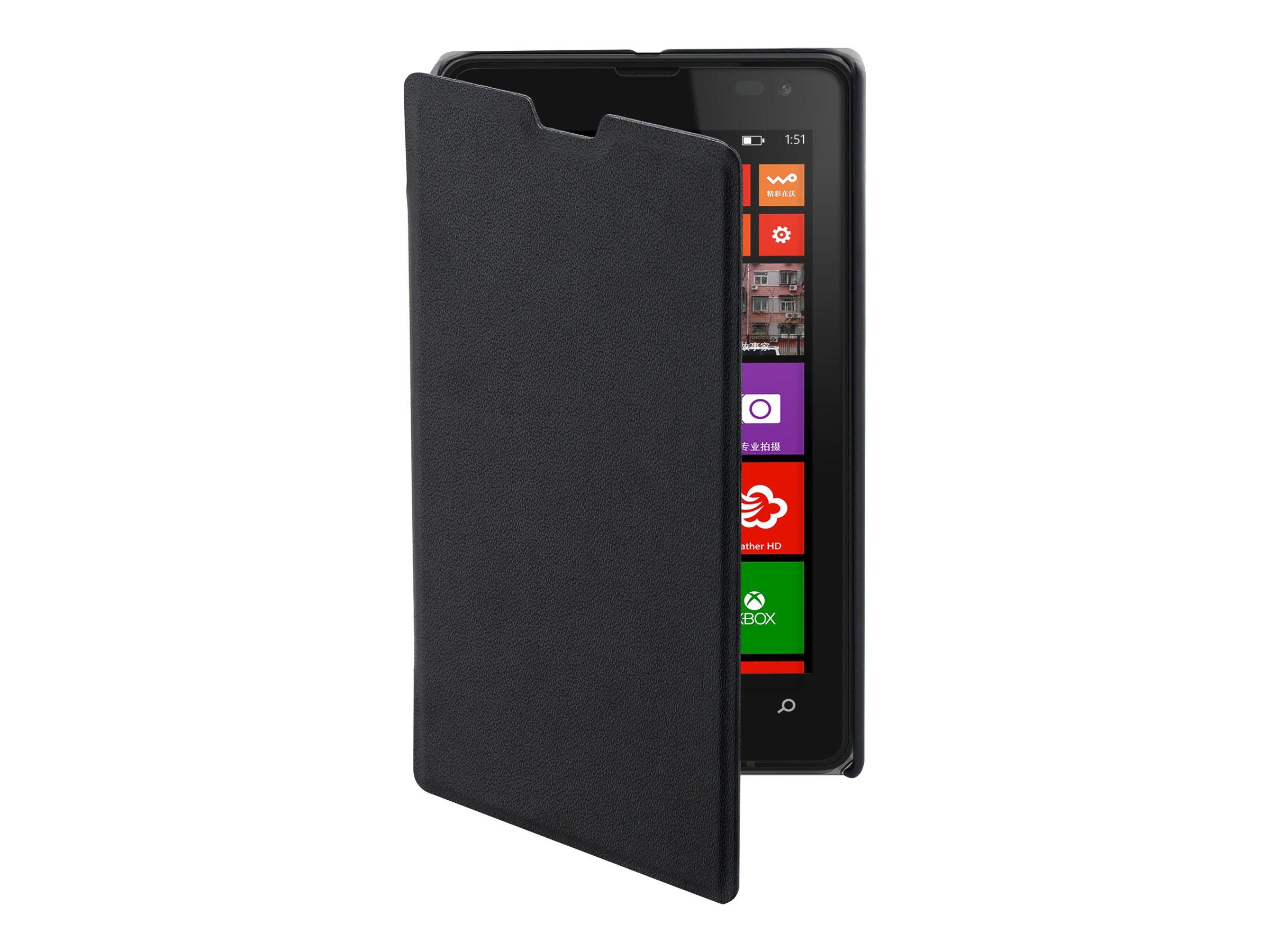 Muvit Easy Folio - Protection à rabat pour Microsoft Lumia 532 - noir