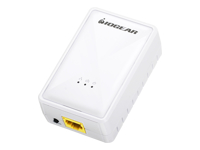 IOGEAR Powerline Wireless Extender Bridge - HomePlug 1.0, HomePlug AV (HPAV), 1905.1 - 2.4 GHz - wall-pluggable - Bridge - HomePlug 1.0, HomePlug AV (HPAV), 1905.1 - 2.4 GHz - wall-pluggable