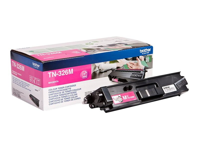 Brother TN326M - magenta - original - cartouche de toner