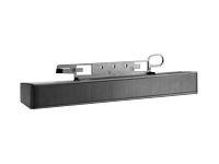 HP LCD Speaker Bar - Speaker - for HP 100, ZR30; DreamColor LP2480; MultiSeat ms6200, t150, t200; Smart Zero Client t410