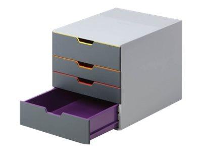 DURABLE VARICOLOR 4 - bloc de classement à tiroirs