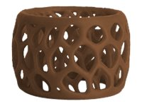 Image of 3D Systems Cube 3 - brown - ABS filament