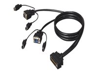 3m OmniView Dual-Port PS2 KVM Cable