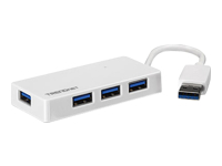 TRENDnet TU3 H4E Hub 4 x SuperSpeed USB 3.0 desktop
