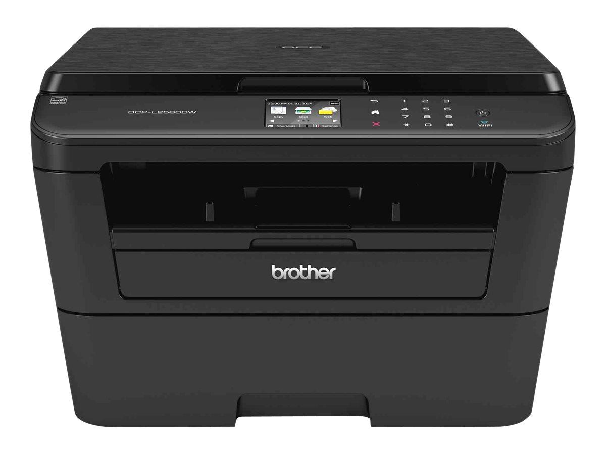 Brother DCP-L2560DW - imprimante multifonctions (Noir et blanc)