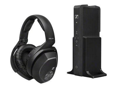 Sennheiser HDR 175 - Headphones - full size - wireless - 2.4 GHz