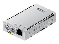 Allied Telesis AT MMC2000 - convertisseur de média à fibre optique - Gigabit Ethernet