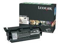 LEXMARK, Toner/25000sh f labels applications X65x