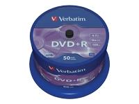 Verbatim - DVD+R x 50 - 4.7 Go