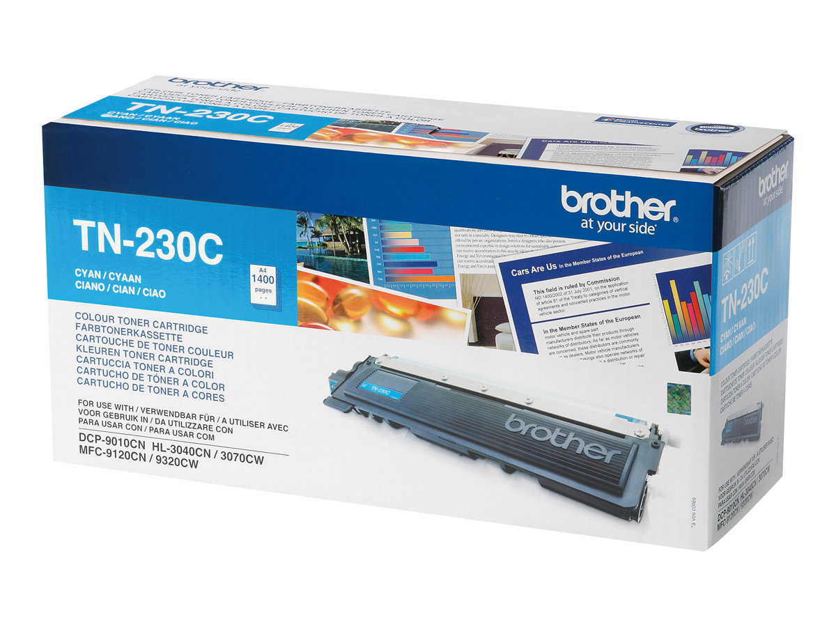 Brother TN230C - cyan - originale - cartouche de toner