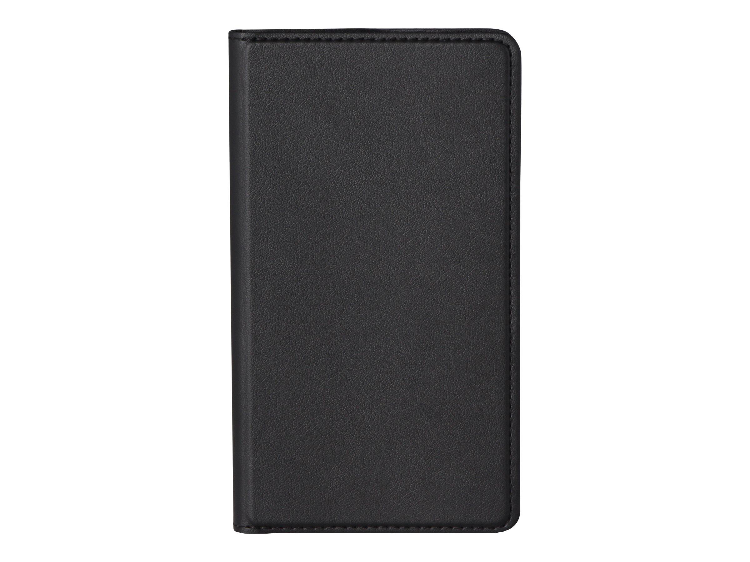 Muvit Folio Stand - Protection à rabat pour Microsoft Lumia 550 - noir