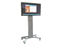 LOXIT HI-LO 8512 Plasma Trolley with Brackets Cart for plasma panel screen size: up to 66""