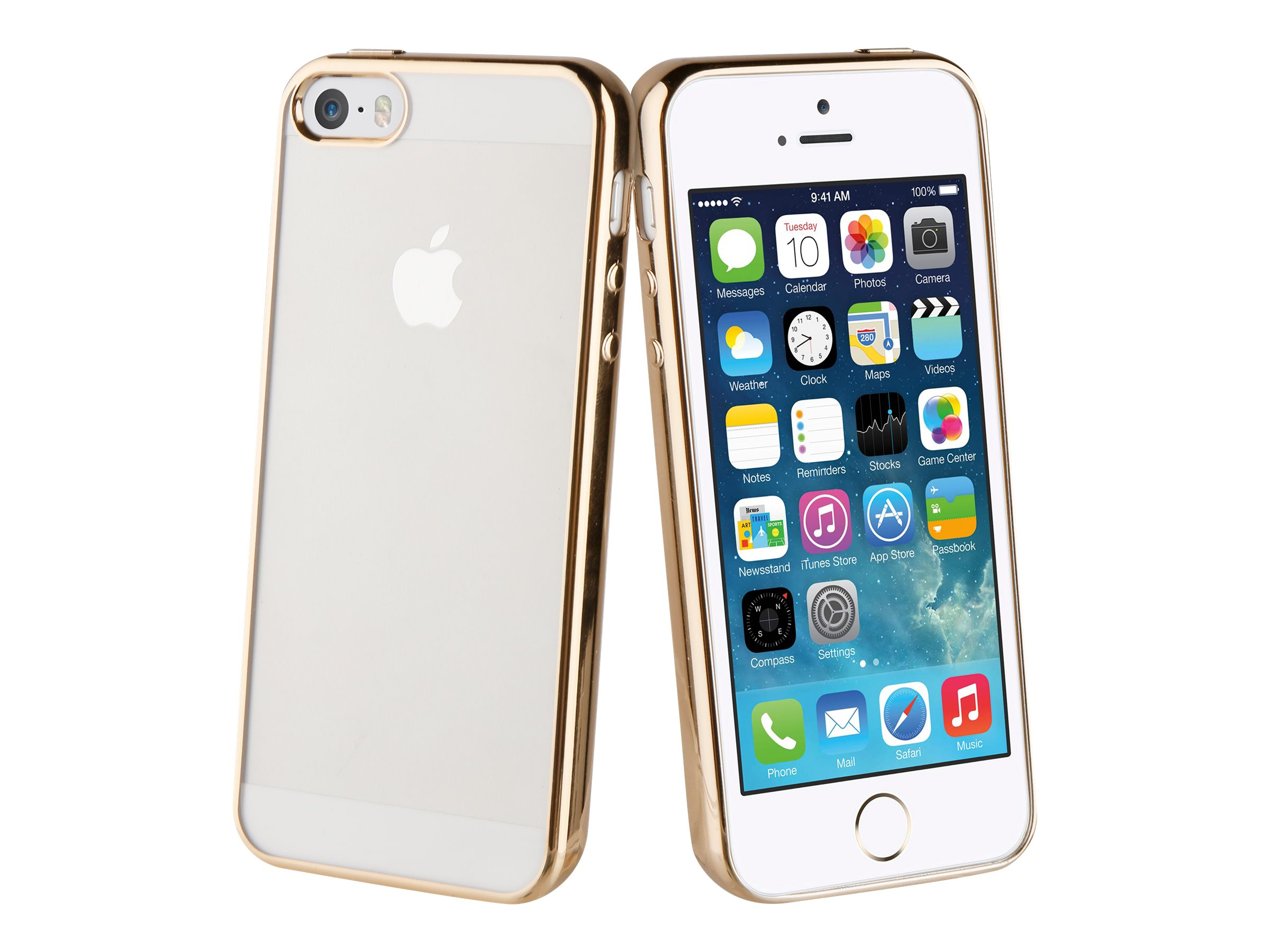 MUVIT LIFE bling - Coque de protection pour iPhone 5, 5s, SE - or