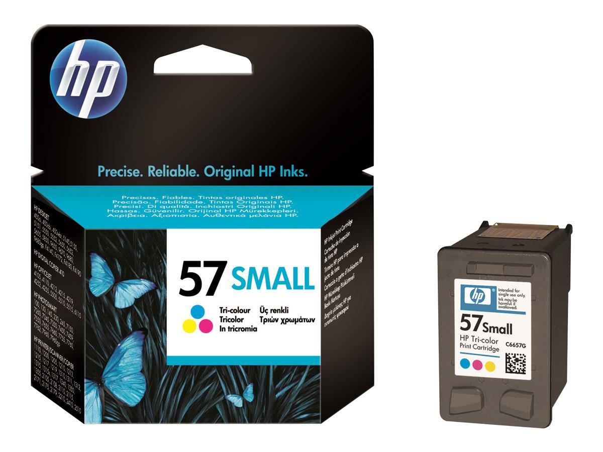 HP 57 Small - couleur (cyan, magenta, jaune) - originale - cartouche d'encre