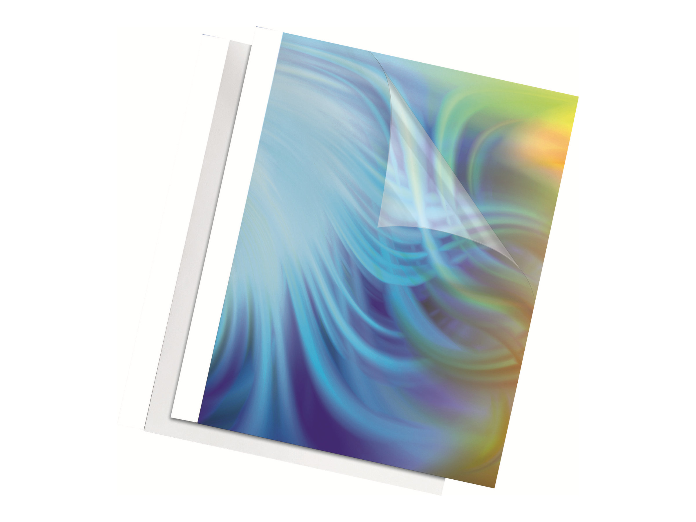 Fellowes - 100 unités - couverture à reliure thermique