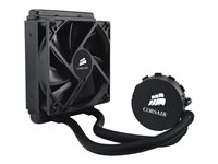 CORSAIR Hydro Series H55 Quiet CPU Cooler - Sistema de refrigeración líquida del procesador - (para: LGA1156, AM2, LGA1366, AM3, LGA1155, LGA2011, FM1)