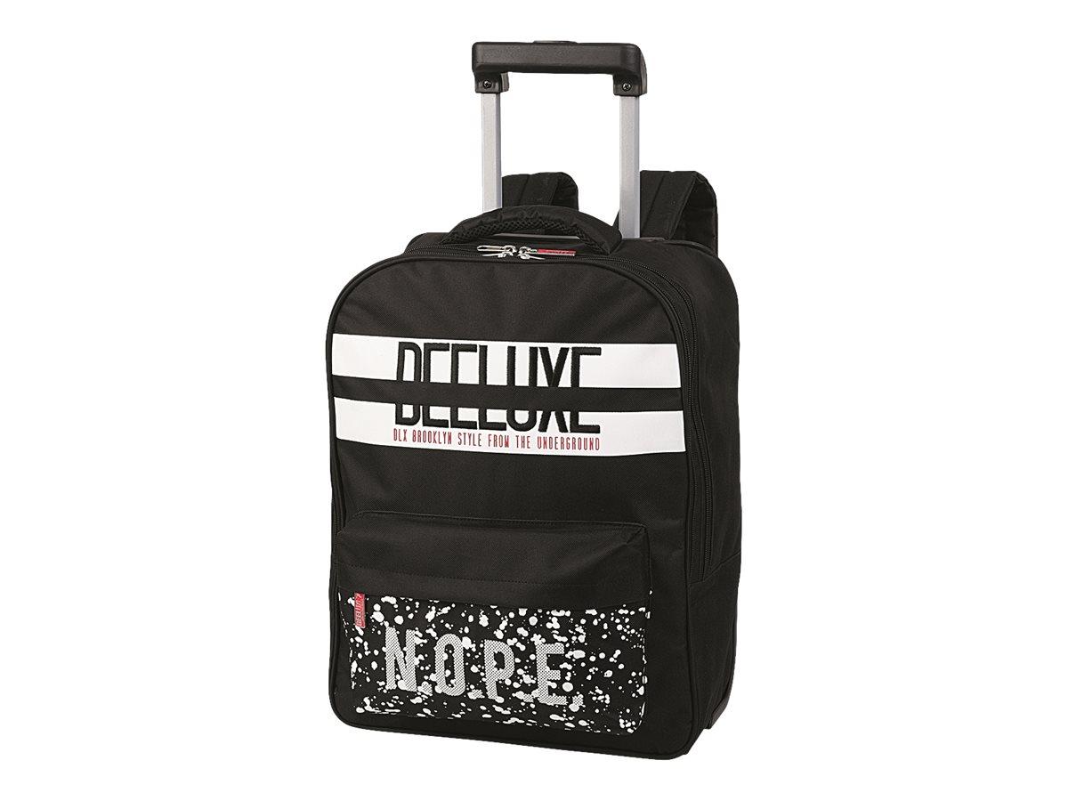 oberthur deeluxe nope valise roulette sac dos sacs roulettes 1 compartiment. Black Bedroom Furniture Sets. Home Design Ideas