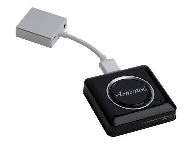 Image of Actiontec ScreenBeam Pro Wireless Display Receiver SBWD100A - wireless video/audio extender - IEEE 802.11b, IEEE 802.11a, IEEE 802.11g, IEEE 802.11n