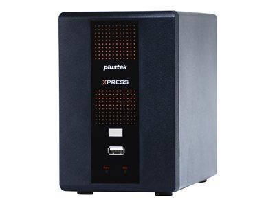 Plustek NVR X840P - Standalone NVR - 4 channels - networked