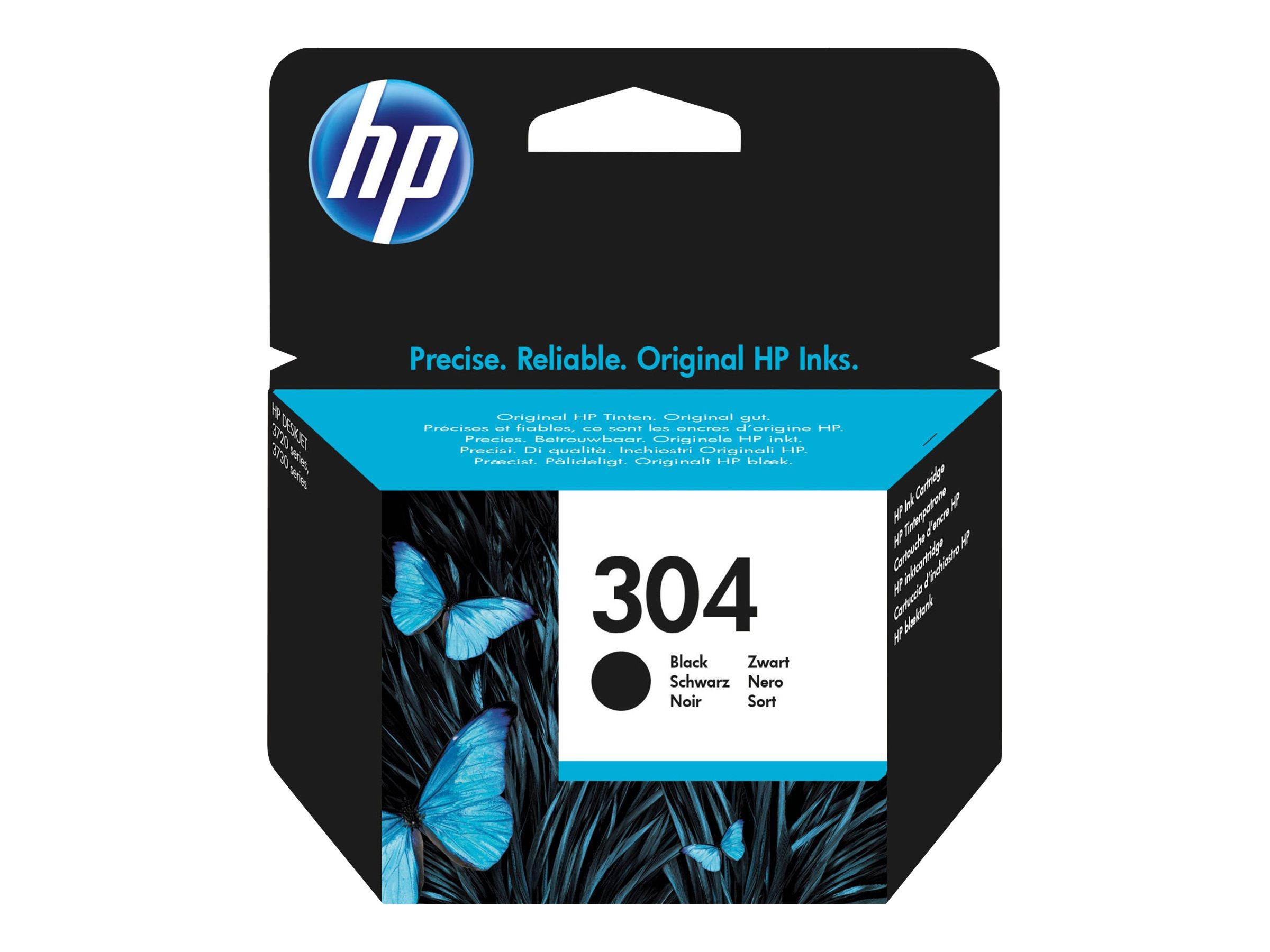 HP 304 - noir - originale - cartouche d'encre