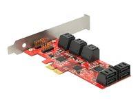 Delock PCI Express Card > 10 x internal, Delock PCI Express Card