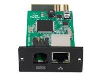 APC Easy UPS Online SNMP Card - Adaptador de administración remota - 100Mb LAN