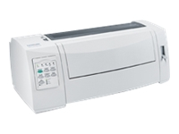Lexmark Forms Printer 2580n+ - imprimante - monochrome - matricielle