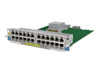 HPE - Expansion module - Gigabit Ethernet x 24 - remarketed - for HPE Aruba 5406, 5406R 16, 5406R 44, 5406R 8-port, 5406R zl2, 5412, 5412R 92, 5412R zl2